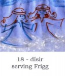 dísir serving Frigg