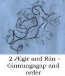 Ægir and Rán - Ginnungagap and order