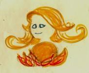Freyja and her Brisingamen