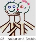 Askur and Embla