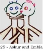 Askur and Embla