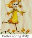 Easter spring deity