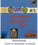Skírnismál - how to perform a ritual