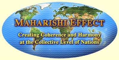 The Maharishi Effect - waging peace