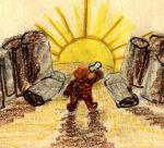 Þór ber tröll Þór batters trolls