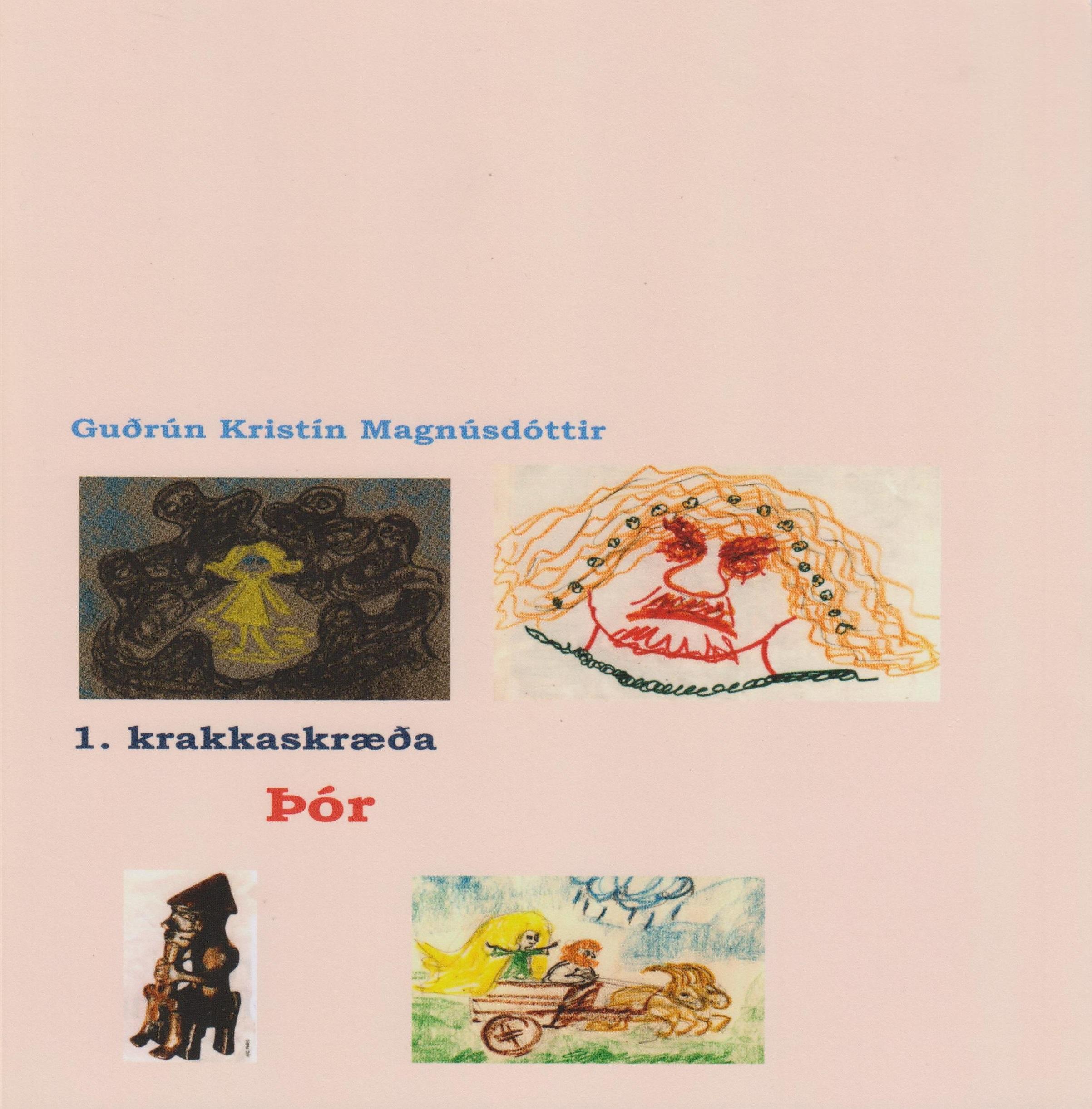 01 Þór, book cover