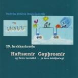 25 Haftsænir Gapþrosnir (book cover)