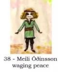 Meili Óðinsson waging peace