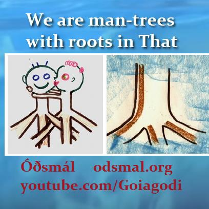 Askur and Embla- We are man-trees with roots in That