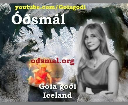Guðrún Kristín Magnúsdóttir - gothi in Iceland - a.k.a. Göiagoði