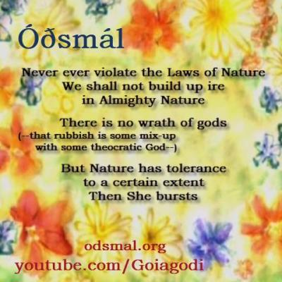 Never violate the laws of Nature. We shall not build up ire i Almighty Nature