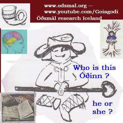 Who is this Óðinn? He or She ?