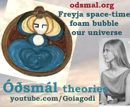 Freyja space-time foam bubble - our universe