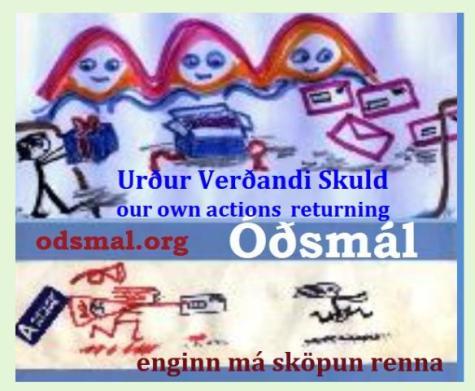 Urður Verðandi Skuld - our own action returning