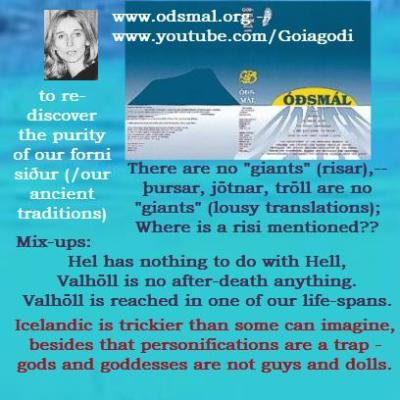 Valhöll is living enlightened. Purest state of consciousness of a living man