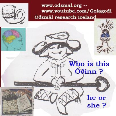 Óðinn who